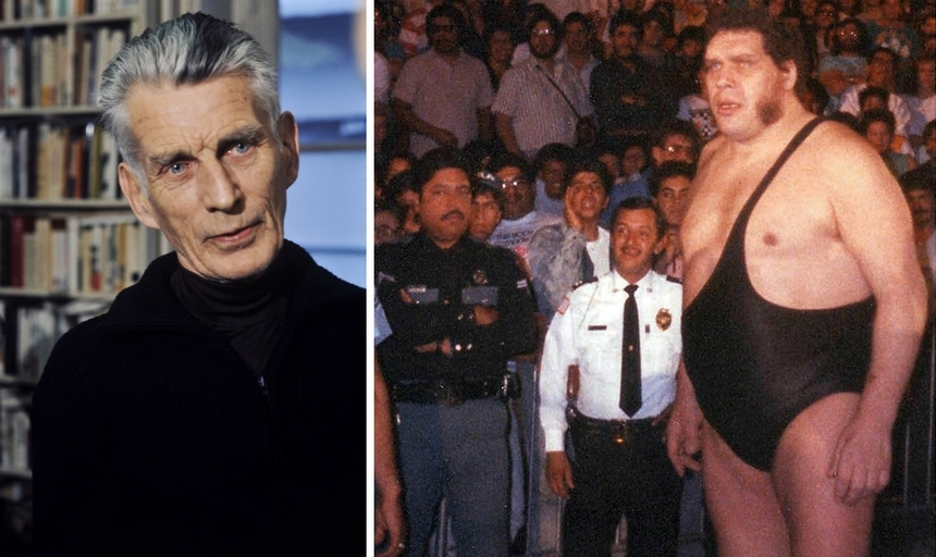 Samuel Beckett and Andre the Giant