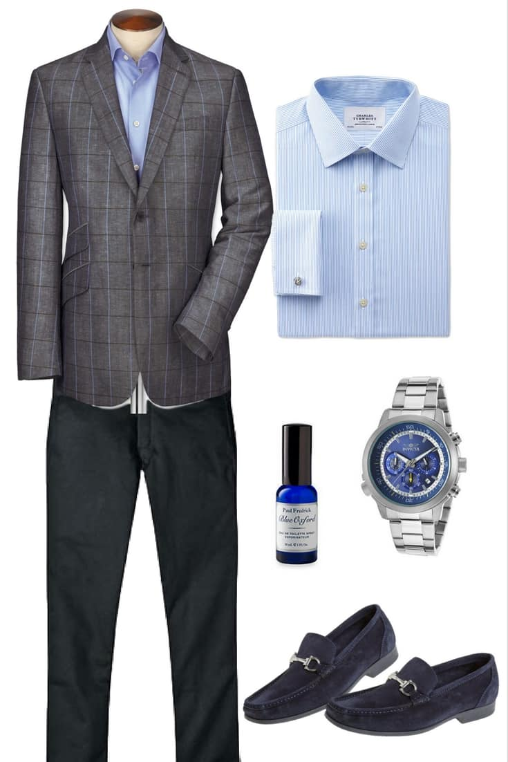 European Style Smart Casual Men's Outfit