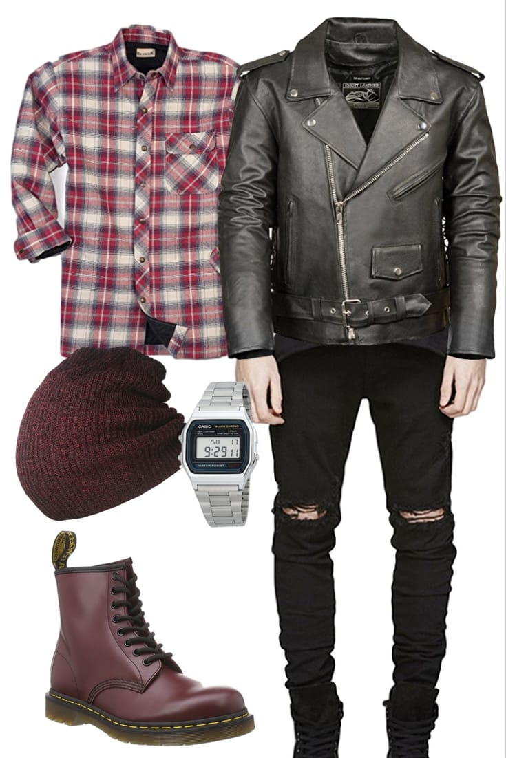 Men's 90's Grunge Outfit: The Grunge Master