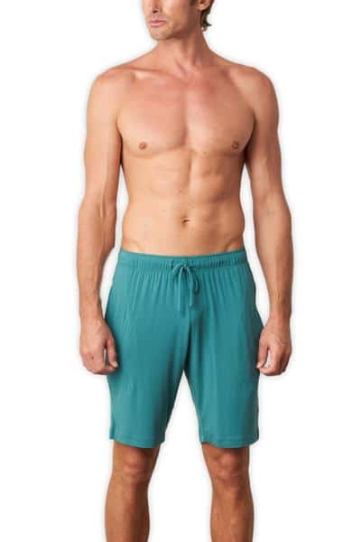 TANI Usa SilkCut Lounge Shorts Model Facing Forward