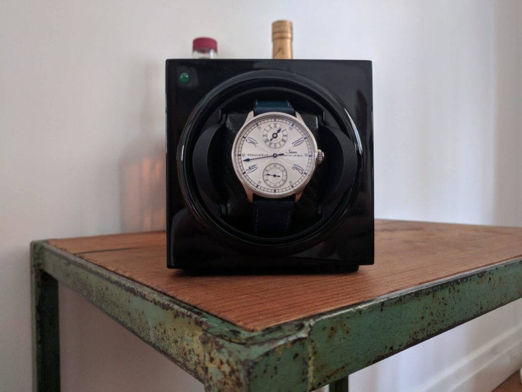 Barrington single watch winder front
