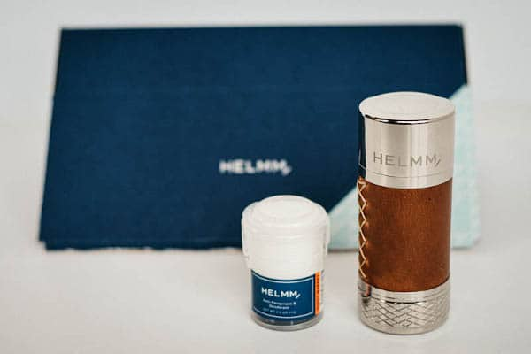 helmm applicator and nightmarket antiperspirant with packaging in background scaled 1