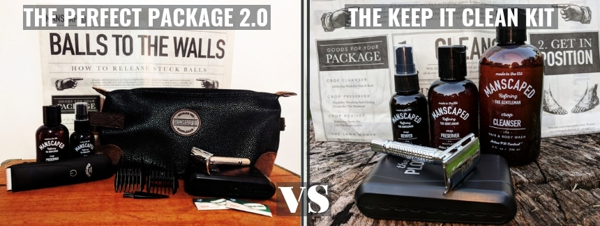 The Perfect Package 2.0 vs The Keep it Clean Kit