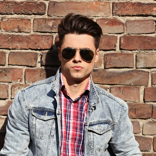 The Best Mens Haircut For Your Face Shape What Hairstyle Suits Me