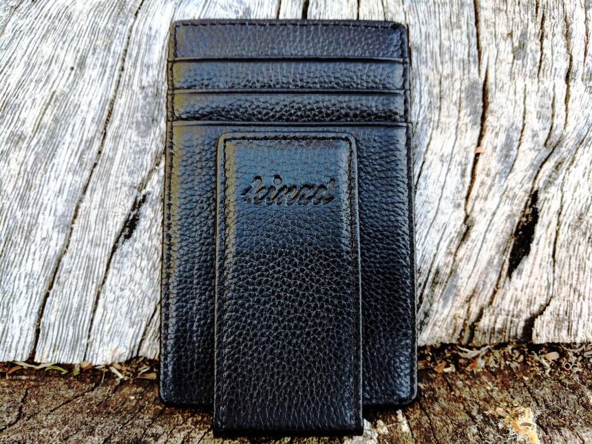 Men/'s New Genuine Leather Bifold Money Clip Wallet ID Credit Card Holder FT
