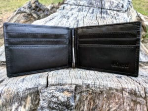 Kinzd Slim Wallet with Money Clip