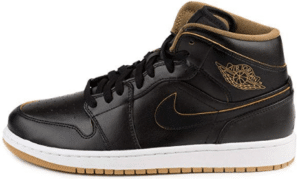 Nike Air Jordan in Metallic Gold