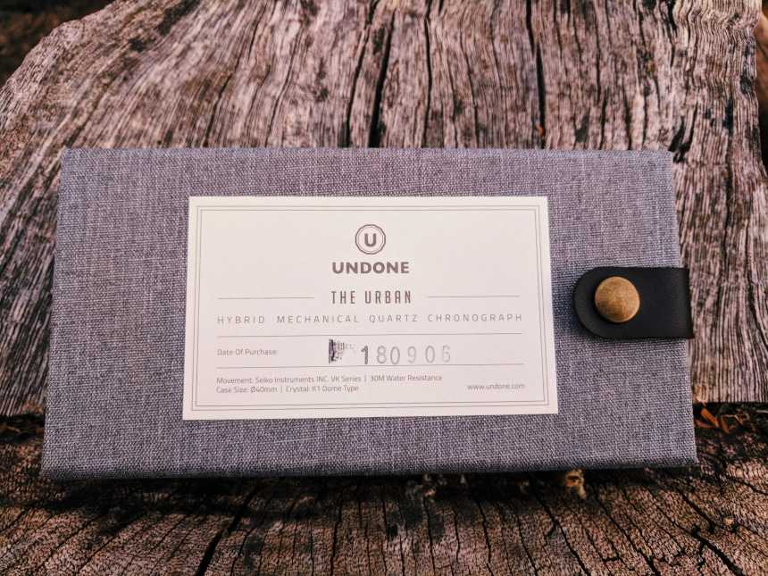 UNDONE Custom Urban Vintage Box Closed