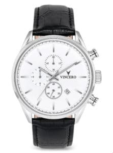 Vincero Chrono S in White and Black