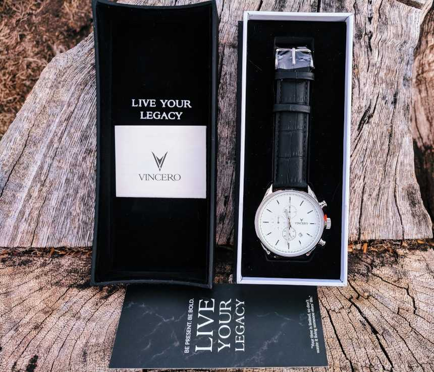 Vincero Watches Box Open With Wrapping