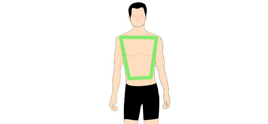 Rhomboid male body type