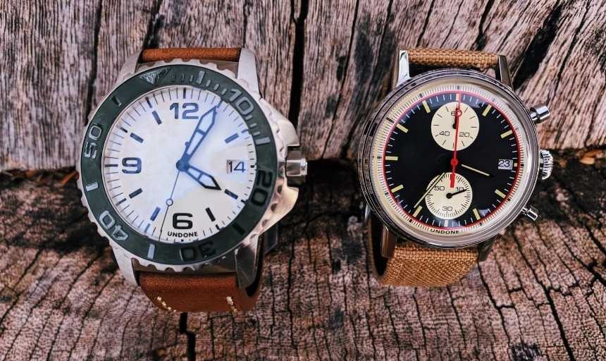 Undone Watches Review: Urban Vintage And Aqua Standard