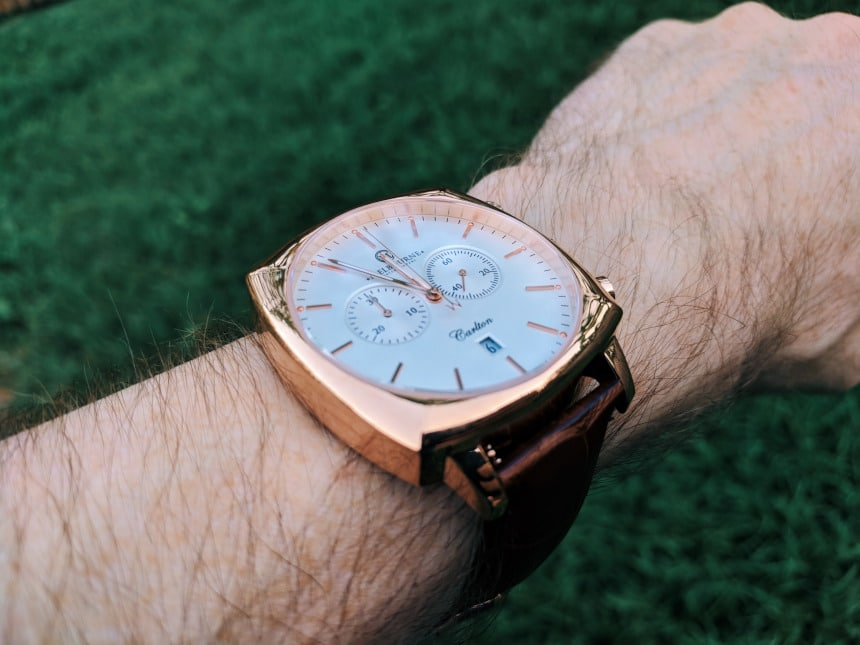 Melbourne Watch Company Classic Rose on wrist