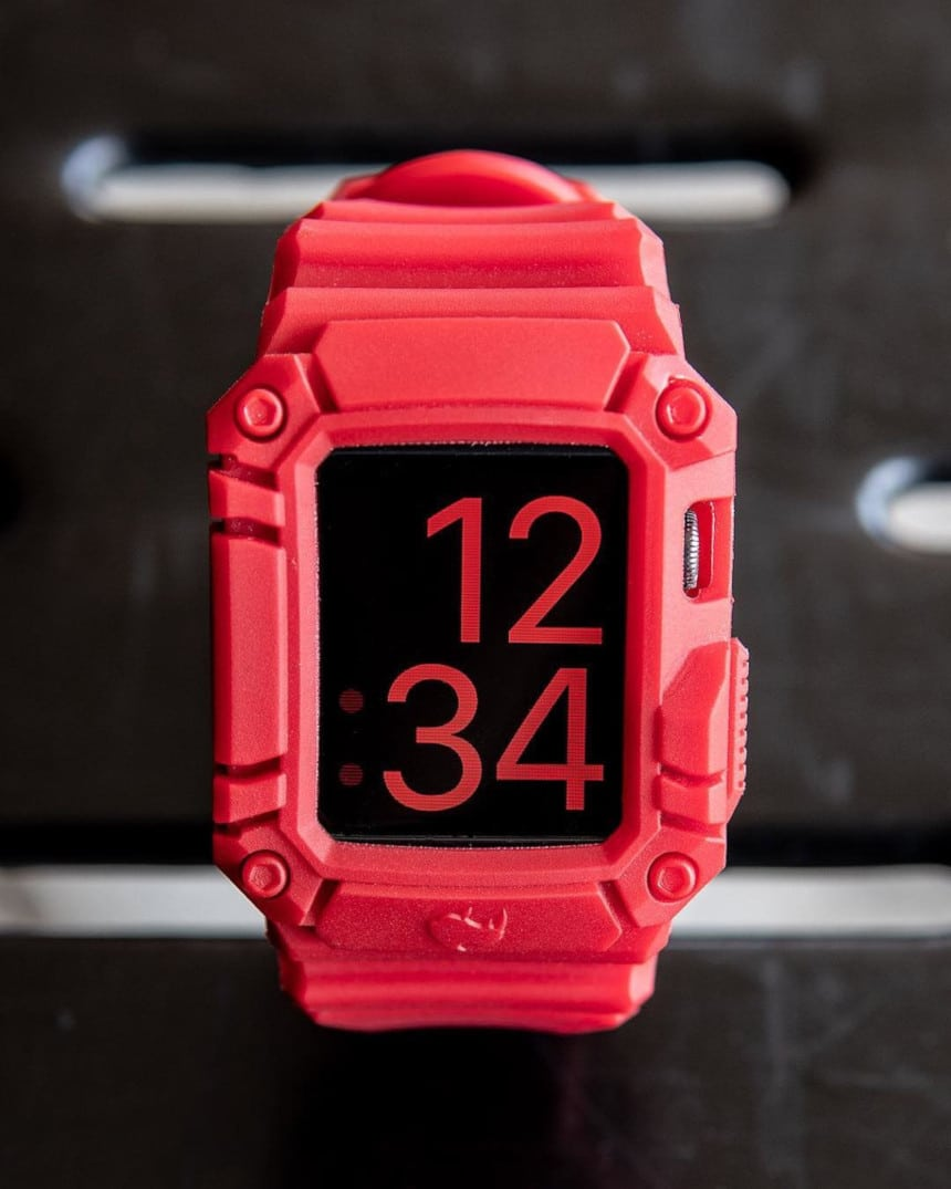 The Rhino Band Runner Red With Screen Saver