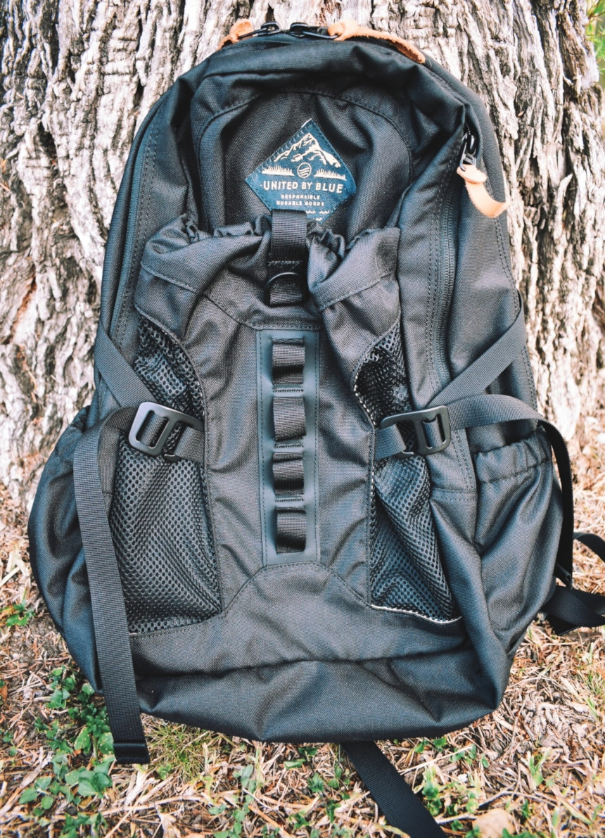 United By Blue 22L Tyest Pack Front