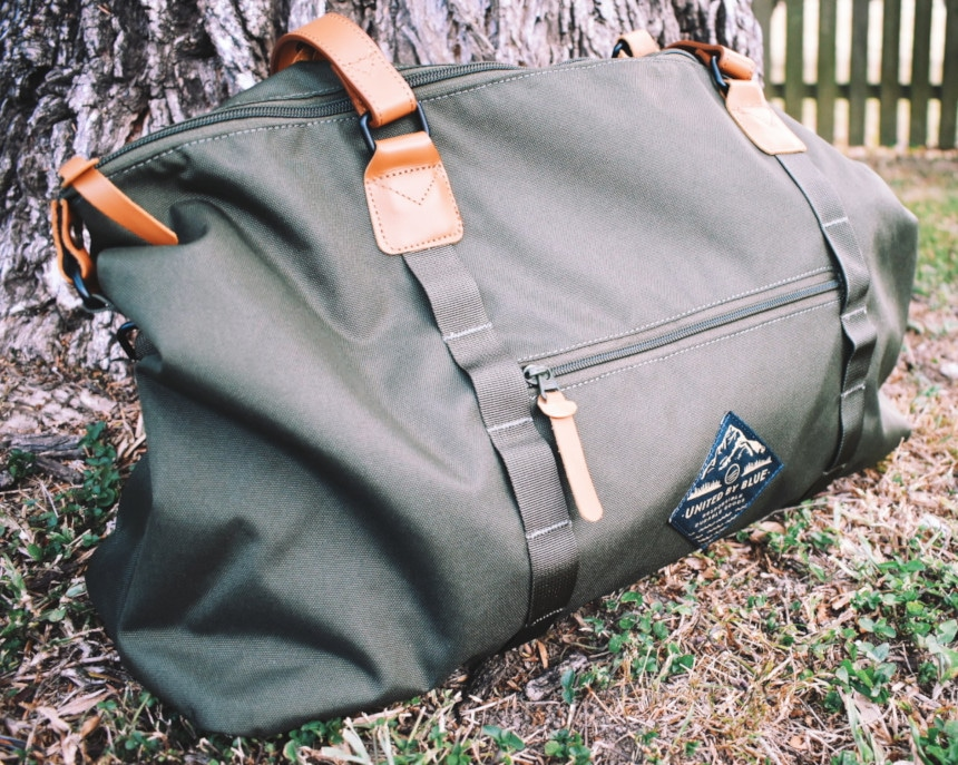 United By Blue Trail Weekender Outside Angle
