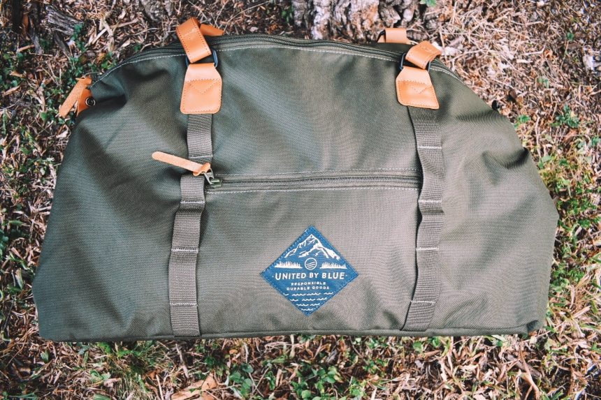 United By Blue Trail Weekender Outside Side