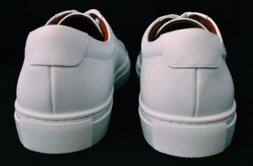 Menlo Club White Kurt Leather Sneakers by New Republic Reverse
