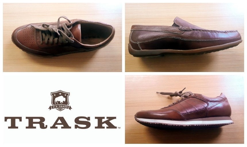 Trask Shoes Review: Grid of Shoes Including The Aiden and The Declan