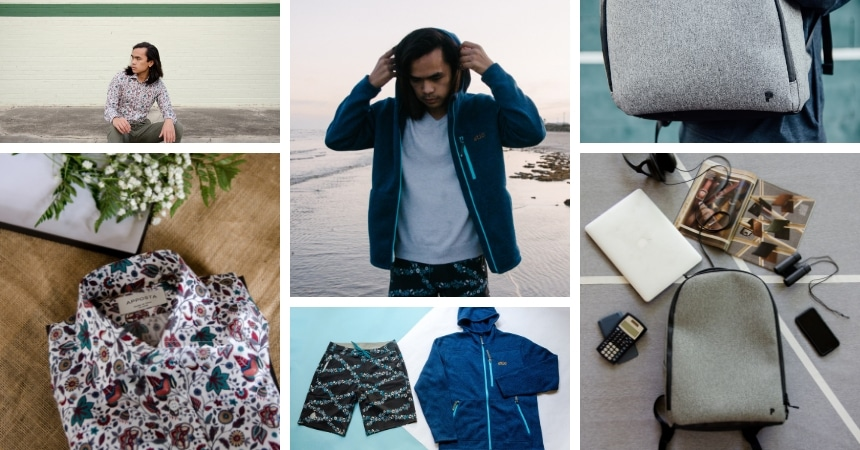 Grid of The Adult Man Partnerships Photography Examples