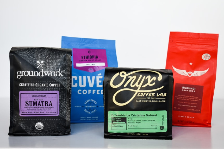 Mix of Four Coffees from Trade Coffee