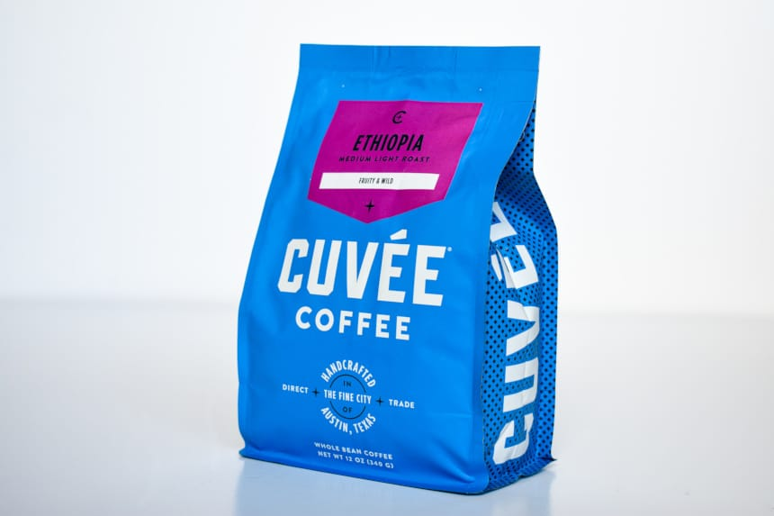 Trade Coffee Cuvee Ethiopia Bag Standing Up