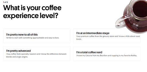 Trade Coffee Sign Up Process Screenshot.png