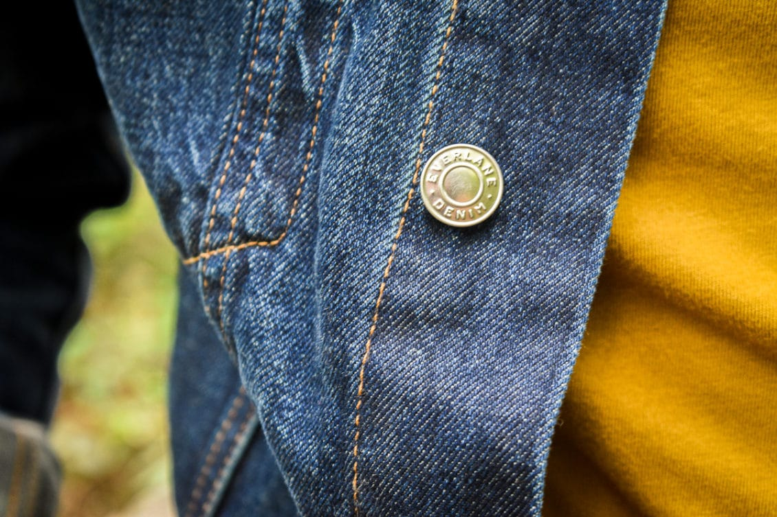 denim jacket button