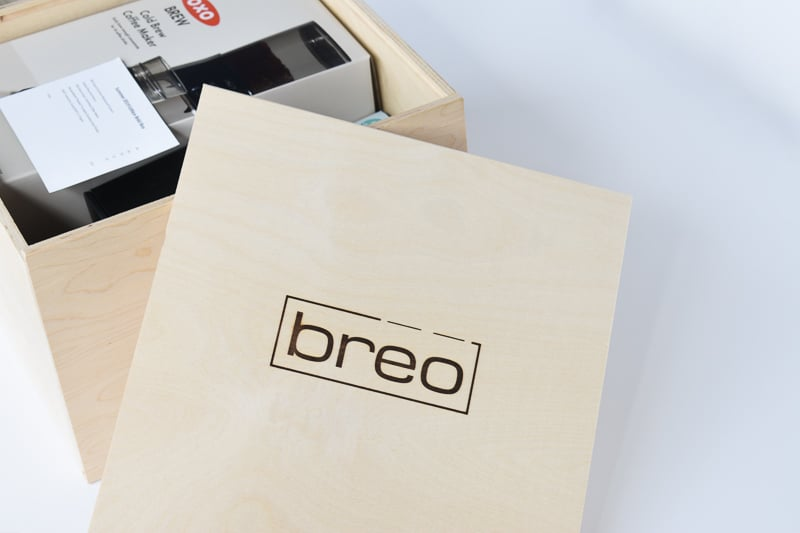 BREO Box Top Closeup