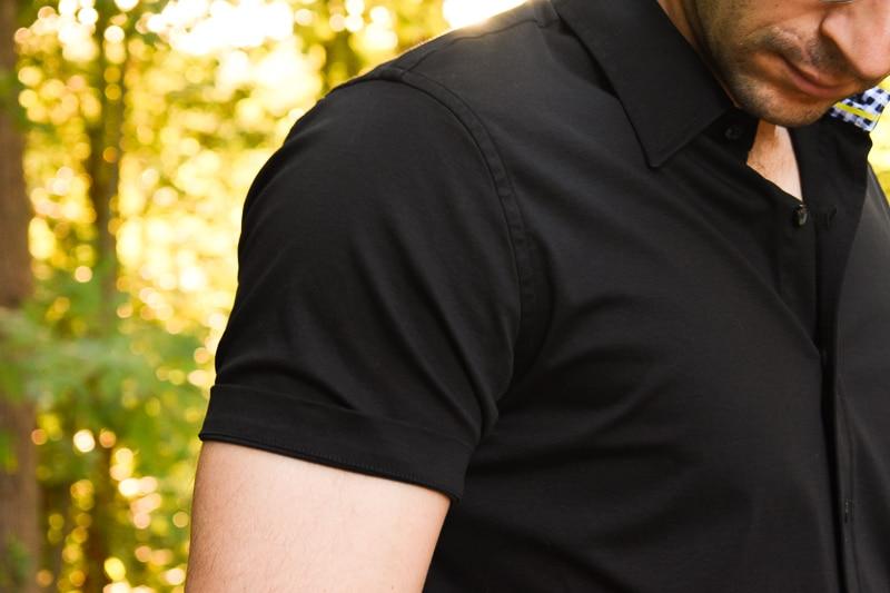Buttercloth Black Diamond Short Sleeve