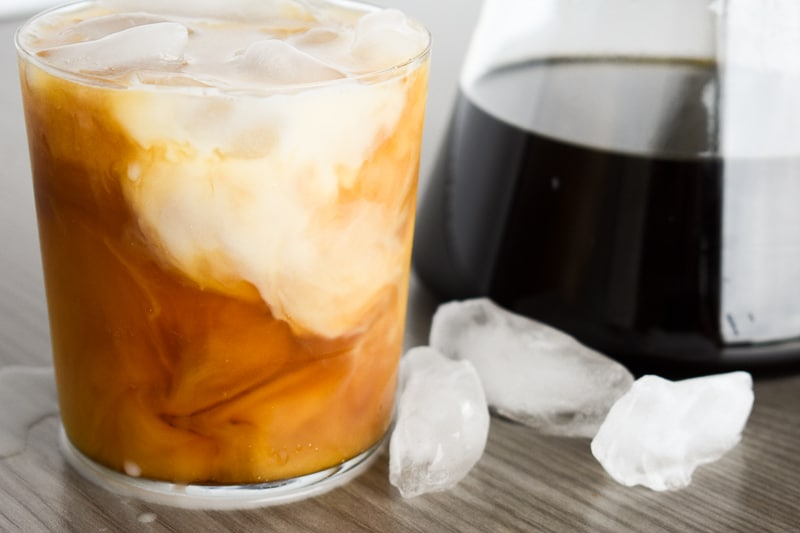 Cold Brew with Milk and Ice