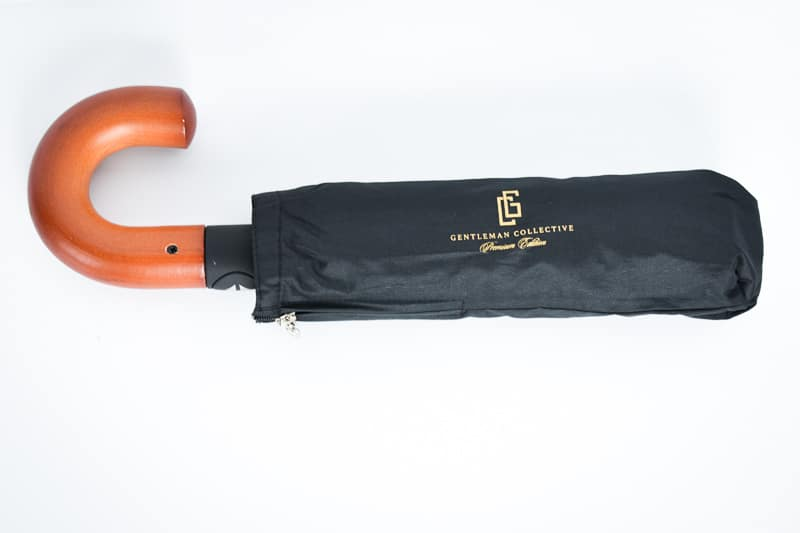 Gentleman Collective Umbrella folded