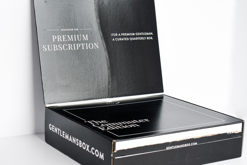 Gentlemans box premium subscription packaging 2