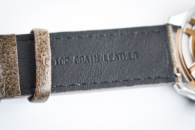 Top Grain Leather Band Stamp