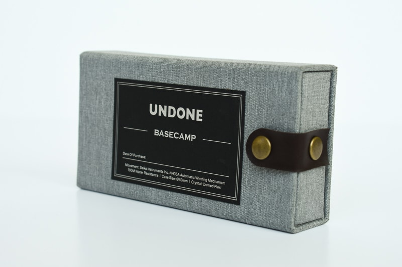 Undone Box Closeup