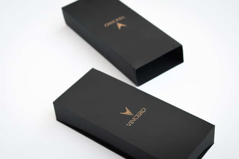 Vincero Black Box and Sleeve