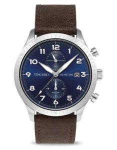 Vincero The Altitude in Silver Navy