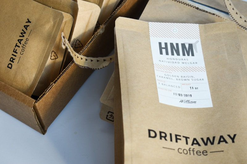 Driftaway honduras coffee eleven ounce