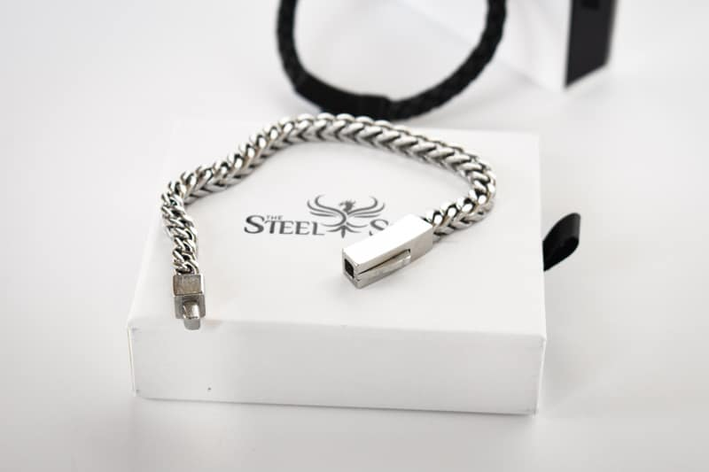 The Steel Shop Franco Link Bracelet Undone 2