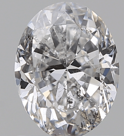 heavy inclusion diamond