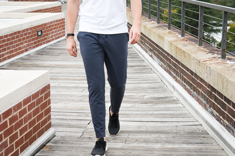 public rec aded jogger walking
