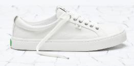 cariuma oca low white sneakers canvas rubber minimalist travel shoe