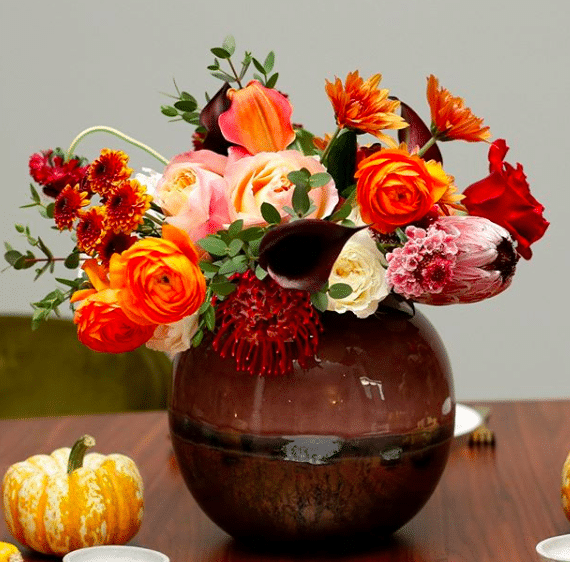 enjoy flowers arrangement