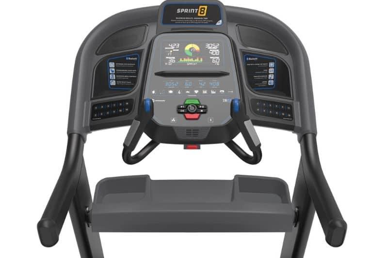 horizon fitness 7.8 at treadmill control panel