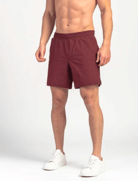 Rhone exercise apparel shorts model