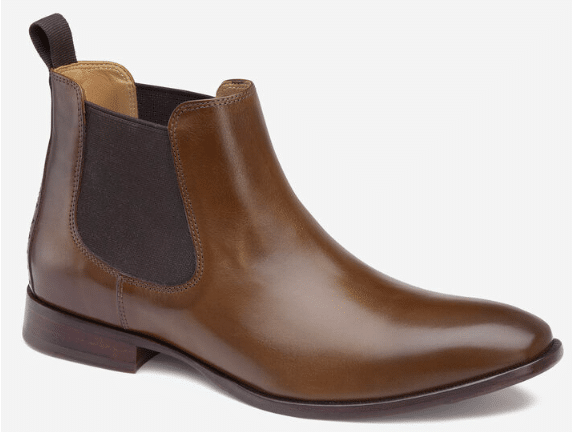 Johnston and Murphy McClain Chelsea Boot Product Image White Background
