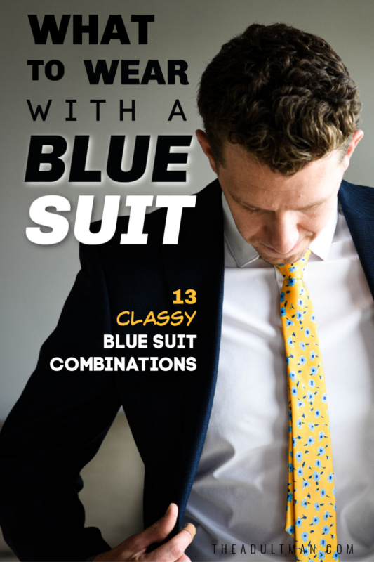 What to War with a Blue Suit
