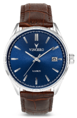 Vincero Kairos in Blue⁄Brown
