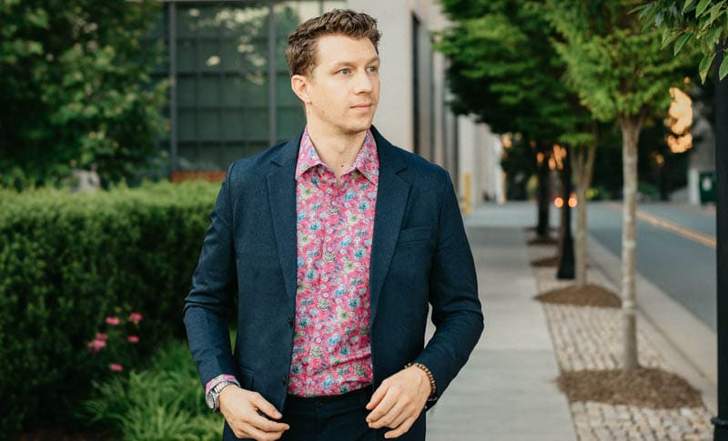 robert graham review shirt floral